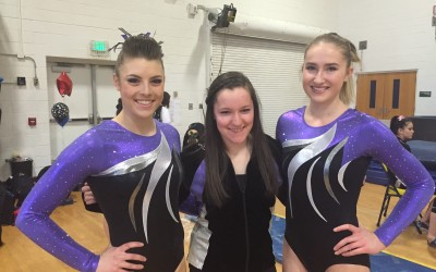 APEX Gymnasts Crown State Champion, Qualify 18 to Regionals, Recognize Seniors