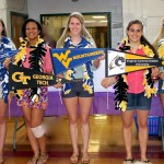 2013-Apex Gymnasts. Graduating Seniors and their colleges. Rebecca Henry, Jasmine Denizard, Kylie Klokis, Alex Cocozza, Madison O'Braitis